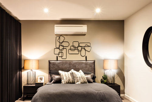 ac in the bedroom